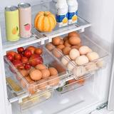 Rebrilliant Fridge Drawer Organizer, Unique Design Pull Out Bins, Fridge Shelf Holder Storage Box, Fit For Most Refrigerator (2 Pack)   Wayfair