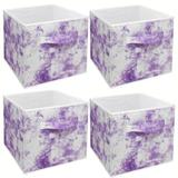 Isabelle & Max™ Cube Storage Bins Cube Foldable Fabric Basket Bin Box Shelves Cubby Cloth Organizer - Great For Nursery Closet Shelf, Playroom