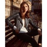 Leather Jacket - Black - The White Company Jackets