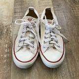 Converse Shoes   Chuck Taylor Converse All Stars Low Top Flat Classic White Sneakers Womens Sz 7   Color: Red/White   Size: 7