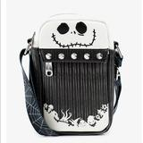 Disney Bags | Nightmare Before Christmas Studded Crossbody Bag | Color: Black | Size: Os