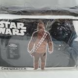 Disney Other | Chewbacca Halloween Costume Size Standard Adult (Up To 42)Disney Brand Star Wars | Color: Tan | Size: Standard Size. Up To Size 42
