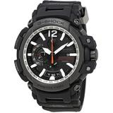 G Shock Perpetual Alarm World Time Chronograph Quartz Dial Watch -1a - Black - G-Shock Watches