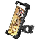 KATIER Bike Phone Mount 360°Rotation,Universal Motorcycle Handlebar Mount Bicycle Phone Holder Compatible For Iphone 11,12 Pro Max,S9 in Black