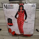 Disney Pants & Jumpsuits   Adult Minnie Mouse Halloween Costume   Color: Black/Red   Size: Sm