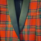 J. Crew Suits & Blazers   J. Crew Ludlow Dinner Jacket Slim Fit Red Stewart Tartan- New With Tags   Color: Black/Red   Size: 38s