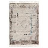 """""""Vibe by Jaipur Living Aydin Medallion Gray/ Blue Area Rug (9'3""""""""X13') - Jaipur Living RUG152477"""""""