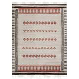 """Vibe by Jaipur Living Izmir Tribal Black/ Clay Area Rug (6'7""""X9'6"""") - Jaipur Living RUG152474"""