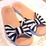 Kate Spade Shoes   Kate Spade Sandals Sz 7.5 Excellent Condition.   Color: Black/White   Size: 7.5