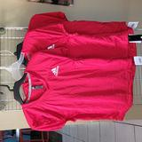 Adidas Shirts & Tops | Lot Of 3 New Adidas Practice Football Training Red Jersey Shirt Kids L | Color: Red | Size: Lb