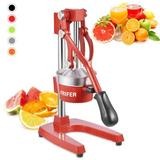 Viugreum Manual Citrus Juicer Hand Press,Commercial Orange Lemon Juicer Squeezer Heavy Duty Cast Iron Fuselage, Size 15.74 H x 9.84 W x 5.9 D in