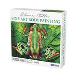 Urban Trend Funwares Card Games - Johannes Stotter Frog Body Art 1,000-Piece Puzzle