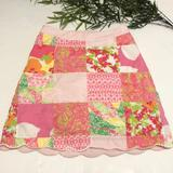 Lilly Pulitzer Skirts | Lilly Pulitzer Sonia Skirt Size 2 Multicolor | Color: Green/Pink | Size: 2