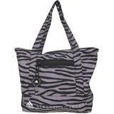 Zebra Printed Tote Bag - Black - Adidas By Stella McCartney Totes