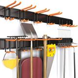 MELODY Enhanced Garage Storage Rack - Wall Mounted Lawn Tools Storage - Yard Tools Hanger Garden Storage Tool For Garden Tools, Bicycles | Wayfair