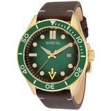 Invicta Vintage Automatic Men's Watch - 44mm Dark Brown (33516)