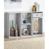 Whitmor Storage Bins Alloy - Alloy Gray Five-Piece Clip & Cube Organizer