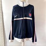 Nike Jackets & Coats   Nike Usa Full Zip Soccer Sweater Youth Xl   Color: Blue/White   Size: Xlb