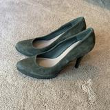 Nine West Shoes   Nine West Gray Green Suede Stiletto Heels   Color: Gray/Green   Size: 7.5