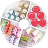Rebrilliant Plastic Lazy Susan Cabinet Storage Bin, 1/4 Wedge Container For Kitchen, Pantry, Counter, BPA-Free, Set Of 4 | Wayfair