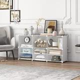 Rebrilliant Portable Shoe Rack For Closet Shoe Organizer Tower Shelf Shoe Storage Cabinet Stand Expandable For Heels, Boots | Wayfair