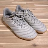 Adidas Shoes   Adidas Copa 20.3 Sala Indoor Soccer Shoes Youth Size 3   Color: Gray/Silver   Size: 3bb