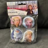 Disney Party Supplies   Bag Of Frozen Ii Slap Bracelets   Color: Blue/White   Size: Os