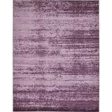 Ebern Designs Roah Purple Area Rug Polypropylene in Brown/Indigo, Size 144.0 H x 108.0 W x 0.5 D in   Wayfair A9424DC2936D46C192CF9A417FC17FE4