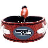 NFL Seattle Seahawks Leather Classic Wristband