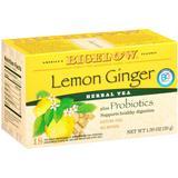 Bigelow Tea, Herb Plus Lemon Ginger, 18-Count Tea Bags (Pack of 6)