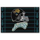 NFL Jacksonville Jaguars Tufted Rug 20-inch x 30-inch