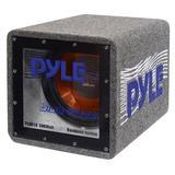 "Bandpass Enclosure Car Subwoofer Speaker - 500 Watt High Power Car Audio Sound Component Speaker System w/ 10-inch Subwoofer, 2"" Aluminum Voice Coil, 4 Ohm, Ported Enclosure System - Pyle PLQB10"