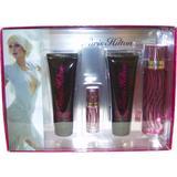 Paris Hilton by Paris Hilton for Women, Gift Set-3.4 Ounce EDP Spray, 3 Ounce Bath and Shower Gel, 3 Ounce Body Glistening Lotion, 7.5ml EDP Spray