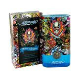 ED HARDY HEARTS & DAGGERS by Christian Audigier for MEN: EDT SPRAY MINI .25 OZ (note minis approximately 1-2 inches in height)