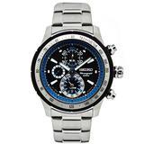 Seiko Mens Chronograph Watch SNAC85P