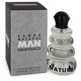 Samba Natural Man By Perfumers Workshop For Men. Eau De Toilette Spray 3.4 Ounces