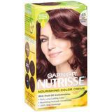 Garnier Nutrisse Haircolor, 45 Dark Mahogany Brown Cinnamon Stick