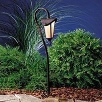 Kichler 15313TZG Lafayette Low Voltage Landscape Path Light