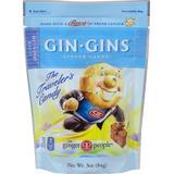 Ginger People Gin Gins Super Strength Ginger Candy-3 oz Bag