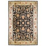 """Gentry Easy Care Area Rug - Ivory Border with Red Center, 2'6"""" x 10' Runner - Frontgate"""