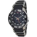 U.S. Polo Assn. Sport Men's US8163EXL Analog-Digital Extra Long Gunmetal Bracelet Watch