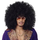 California Costumes Men's Super Jumbo Afro Wig,Black,One Size