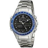 Sartego Men's SPW31 World Timer Quartz Chronograph Watch