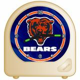 "NFL Chicago Bears Desk Clock, 2.75"" x 2.75"""