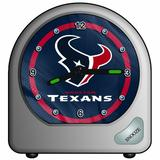 "NFL Houston Texans Desk Clock, 2.75"" x 2.75"""