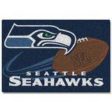 Seattle Seahawks Tufted Rug (20-inch x 30-inch)