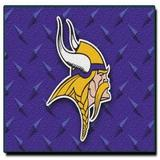 "Officially Licensed NFL Minnesota Vikings Raschel Rug with Non-Skid Backing, Light Purple, 20"" x 30"""
