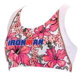 TYR Ironman Multisport Women's Print Workout Bikini Top