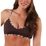 CARVE Designs Women's Catalina Bathing Suit Tankini Top, Java, X-Large