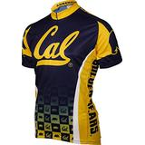 NCAA California Cycling Jersey (X-Large,Sea Blue/Gold)